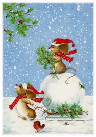 Cute Animated Christmas Mice Pictures, Photos, and Images for ...