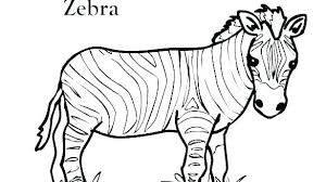 Wild Animal Coloring Pages Wildlife Animal Coloring Pages Quick
