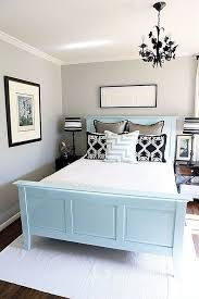 decorative pictures for bedrooms. Blue And Grey Color Small Yet Welcoming Guest Bedroom Decorative Pictures For Bedrooms E
