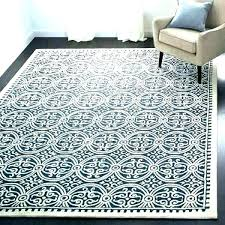 light blue trellis rug