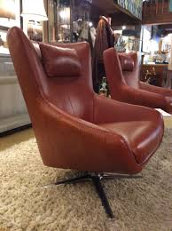large size of chair brown leather swivel ballard consignment vintage purple armchair cream and footstool large