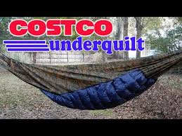 Costco DIY Hammock Underquilt - YouTube &  Adamdwight.com