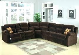 corner couch recliner living room sofa set l corner sofa recliner manual couch real genuine leather