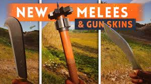 6 NEW MELEE WEAPONS WEAPON SKINS Battlefield 1 They Shall.