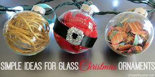 Simple Ideas for Glass Christmas Ornaments