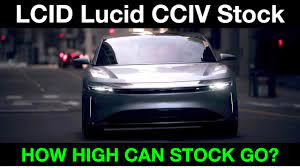 LCID Lucid Motors CCIV Stock: How High ...