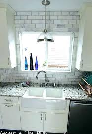 kitchen window trim around kitchen window subway tile around window marble subway tile wall around window kitchen window trim