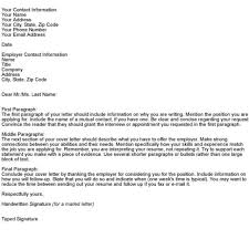 Elegant Physician Cover Letter Examples 34 In Simple Cover