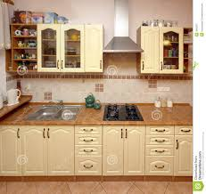 Kitchen Home Home Kitchen Counter Royalty Free Stock Photography Image 3662807