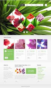 Small Picture Website Templates Garden Design Templates Custom Website Template