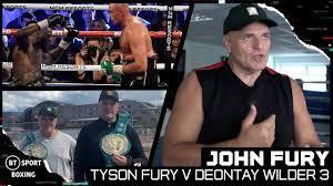 Tyson Fury v Deontay Wilder 3 ...