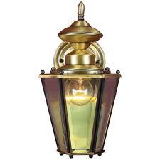 volume lighting 1 light antique solid brass outdoor wall mount