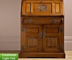 Light Wood Bureau Old Charm Classic 2808 Rose Bureau Computer Desks Rg Cole Furniture Limited