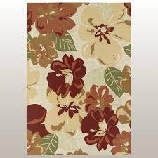 florecer rectangle rug rosewood