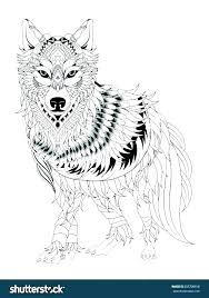 Wolf Coloring Page Coloring Anime Wolf Coloring Pages Wolves Awesome