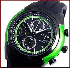 bright rakuten global market citizen x2f chronograph men solar citizen chronograph men solar watch black green case black clockface black rubber belt ca0289