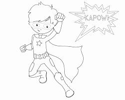 superhero coloring page unique super hero printable coloring pages