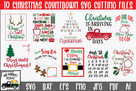 Free for commercial use no attribution required high quality images. Christmas Countdown Svg Bundle Pre Designed Photoshop Graphics Creative Market