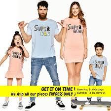 <b>Matching Family Outfit</b>, <b>Super</b> Dad, Matching Family Set, Super Mom ...
