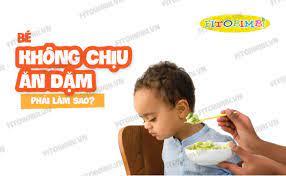 Bé Không Chịu Ăn Dặm Phải Làm Sao? 6 Mẹo Giúp Trẻ Ăn Ngon #Fitobimbi
