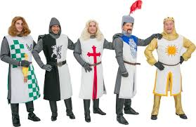 al costumes for monty python s spamalot knights of the round table