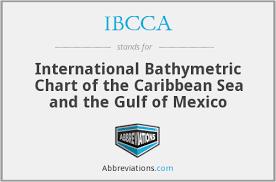 Ibcca International Bathymetric Chart Of The Caribbean Sea