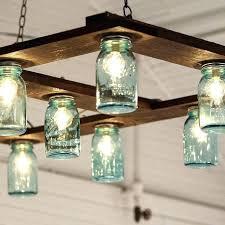 glass jar lamps ball mason jar chandelier best mason jar chandelier ideas on mason jar light