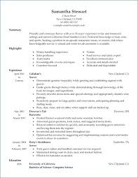 Waitress Job Description Resume Resume Layout Com