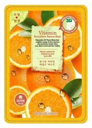 <b>Тканевая 3D маска</b> для лица Витаминная 3D Vitamin Essence ...
