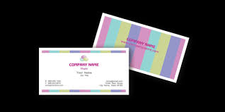 Free Microsoft Word Chic Business Card Templates Download Now
