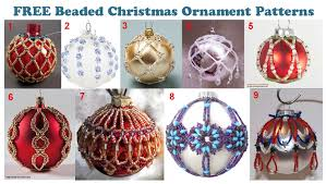 Beaded Christmas Ornaments Patterns Cool FREE PATTERNS BEADED CHRISTMAS ORNAMENTS CHECK THEM OUT Headed