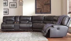 a lazy nevio leather sectional costco delia engaging power sofa grey corner bainbridge pulaski reclining fabric furniture recliner sectionals boy liv