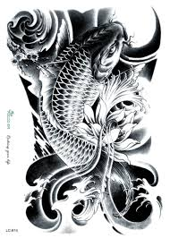 Lc802 821 боди арт большой татуировки наклейки хэллоуин череп черный дракон женщины