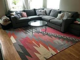 tile wool kilim rug west elm fixer upper