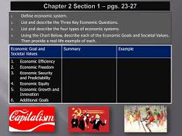 Ppt Chapter 2 Section 1 Pgs 23 27 Powerpoint