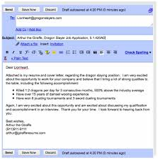 Cover Letter Using Email: Email Content For Sending Resume Examples .