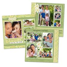 5x5 Scrapbook Pages