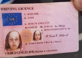 Scotsman Andy' Britain Fake Little Drinker Tried From To The - Use 'scouser Id Featuring