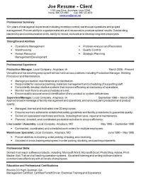 Warehouse Resume Skills  Resume Examples
