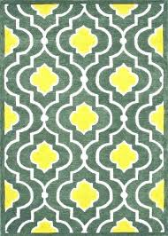 gray and yellow area rug grey 8x10 r