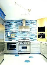 kitchen blue glass backsplash. Blue Kitchen Backsplash Combine Several Different  Shades Of For The White Glass