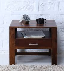 bed side furniture. Avian Solid Wood Bed Side Table In Provincial Teak Finish By Woodsworth Furniture