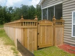 Corner Lot Fence Design Corner Fence Landscaping Plan Bob Doyle Home Inspiration