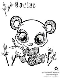 Pets Panda Coloring Pages Print Coloring