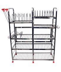 Kitchen Racks Stainless Steel 18 Off On Kcl Stainless Steel Kitchen Rack On Snapdeal