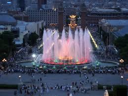 Light Show Fountain Barcelona The Magic Fountain Of Montjuic Emilia Murray Flickr