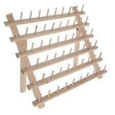 thread spool wood rack hobby lobby