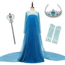 Girls <b>Elsa Anna Princess</b> Sequins Party Dress Baby Girls <b>Elegant</b> ...