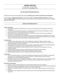 Education Resume Template Assistant Director Example Publish ...