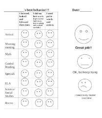 Free Printable Behavior Charts For Teachers Free Printable